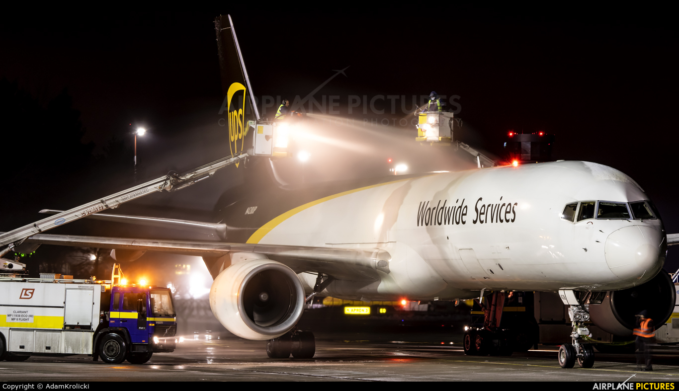 UPS - United Parcel Service N428UP aircraft at Katowice - Pyrzowice