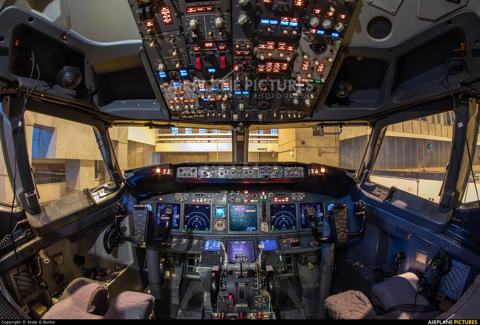 West Atlantic G-NPTD aircraft at East Midlands