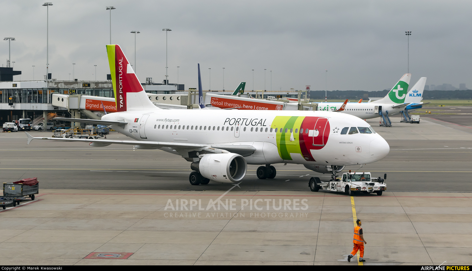 TAP Portugal CS-TTH aircraft at Amsterdam - Schiphol