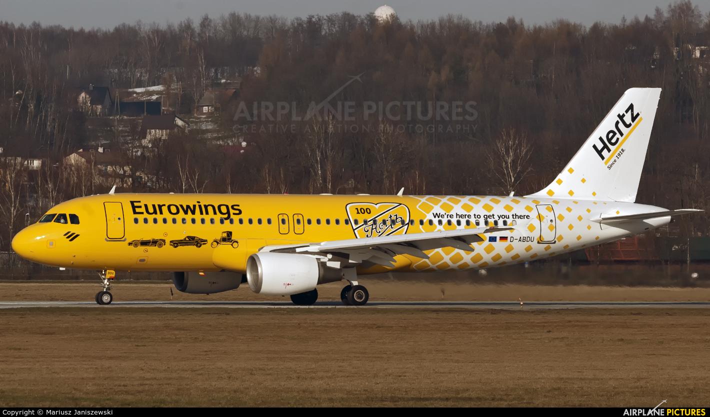 Eurowings D-ABDU aircraft at Kraków - John Paul II Intl