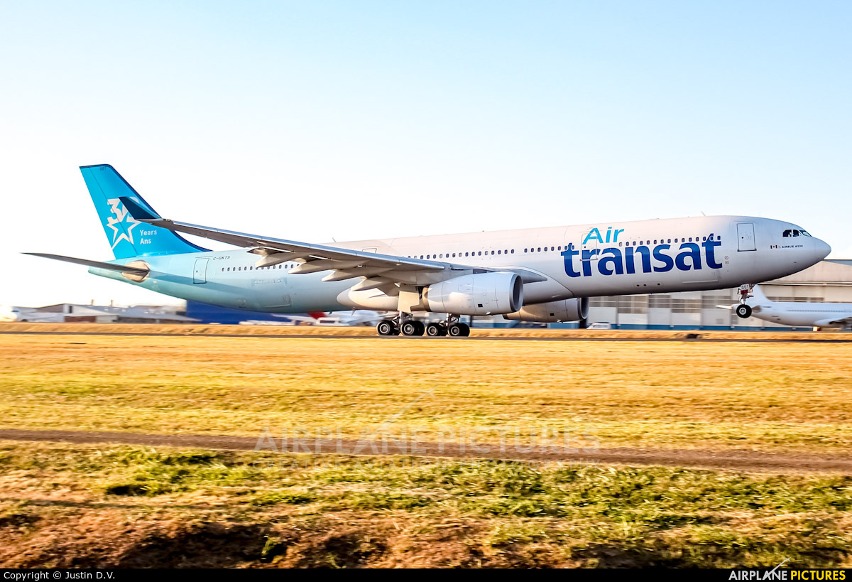 Air Transat C-GKTS aircraft at San Jose - Juan Santamaría Intl