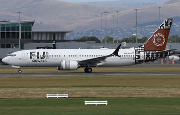 DQ-FAD - Fiji Airways Boeing 737-8 MAX