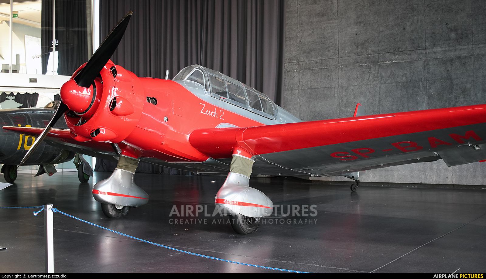 Private SP-BAM aircraft at Kraków, Rakowice Czyżyny - Museum of Polish Aviation