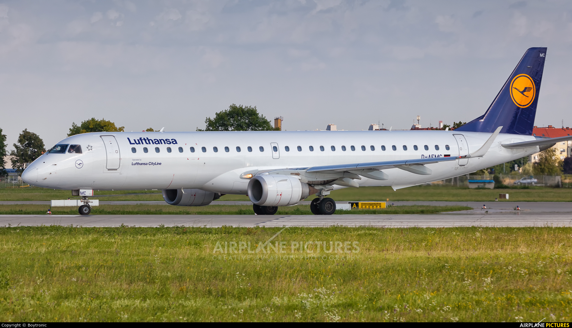 Lufthansa Regional - CityLine D-AEMC aircraft at Zagreb