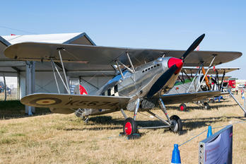 G-CBZP - Historic Aircraft Collection Hawker Fury