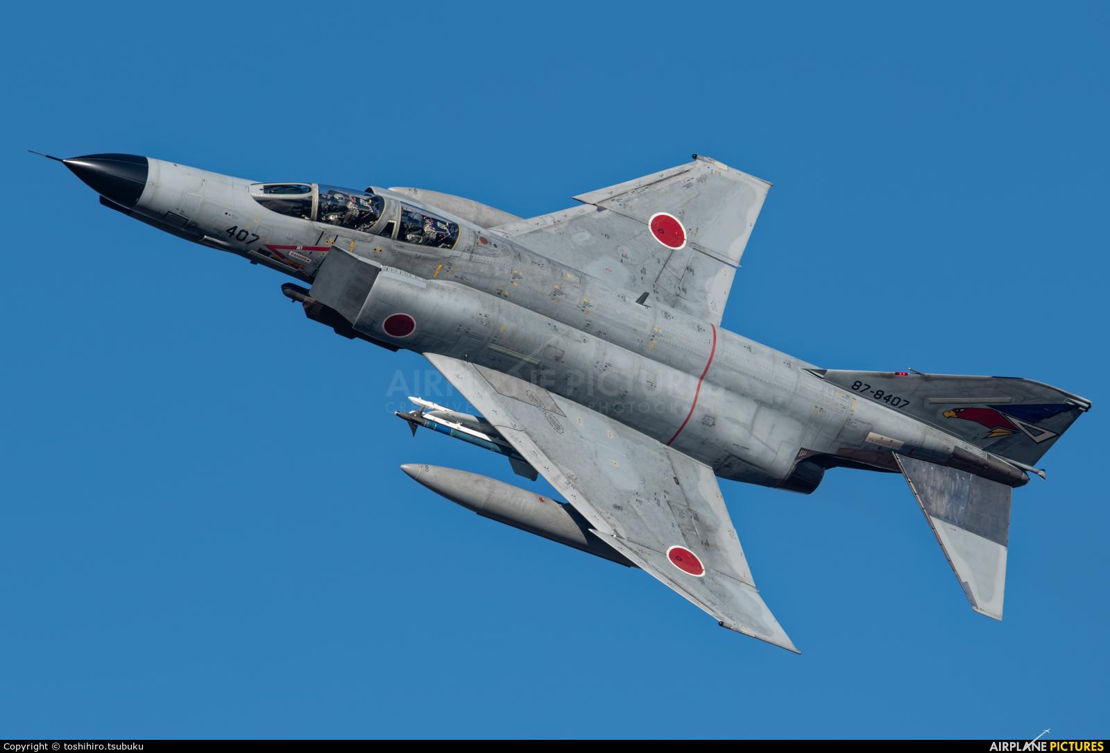 Japan - Air Self Defence Force 87-8407 aircraft at Ibaraki - Hyakuri AB