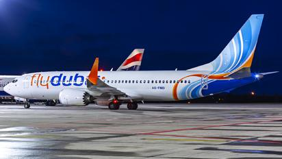 A6-FMD - flyDubai Boeing 737-8 MAX