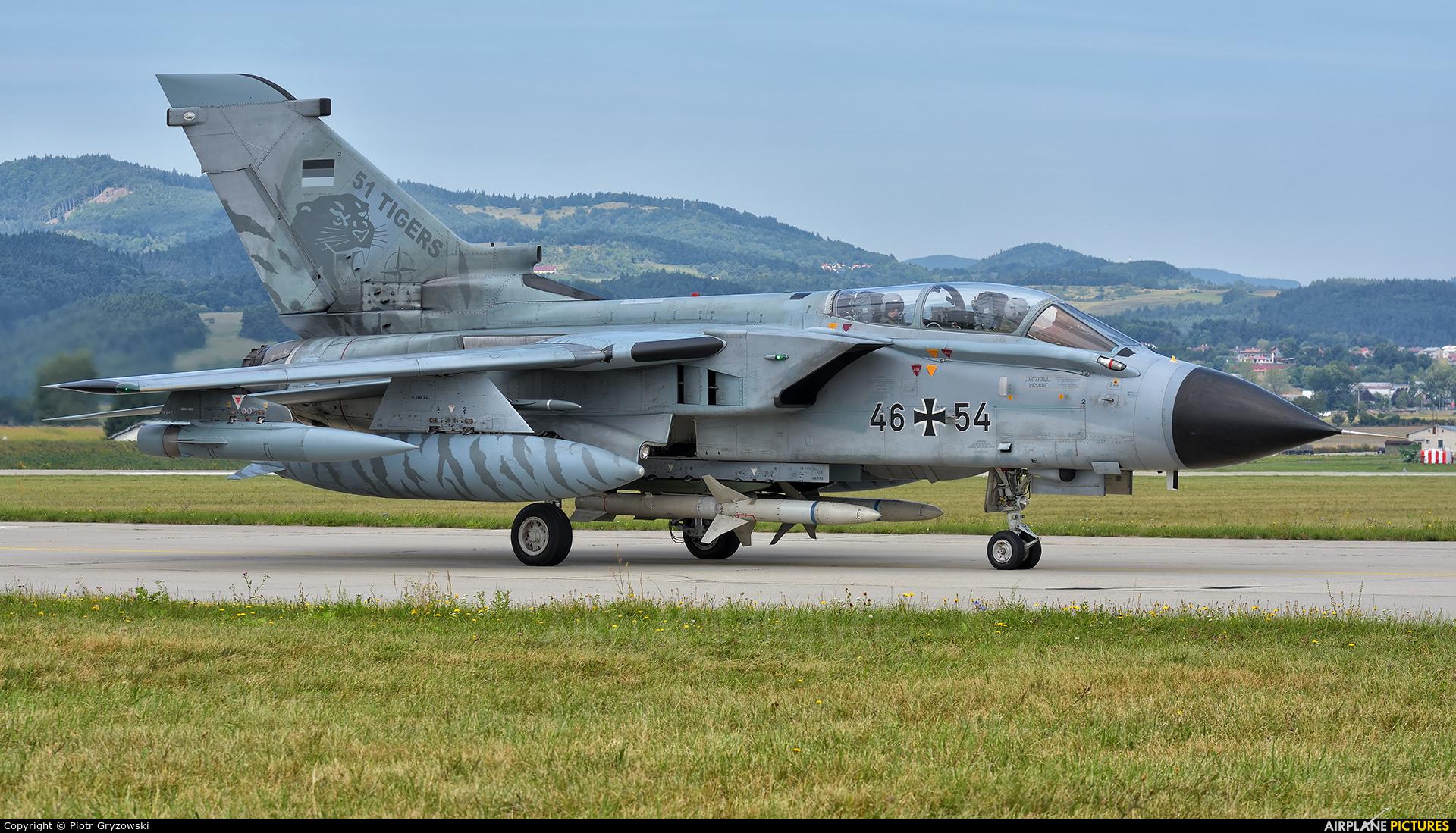 Germany - Air Force 46+54 aircraft at Sliač