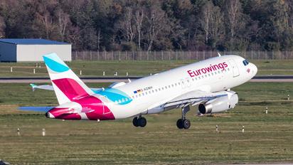 D-AGWH - Eurowings Airbus A319
