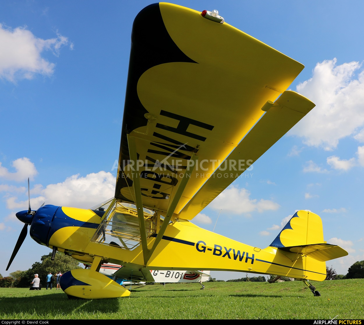 Private G-BXWH aircraft at Northampton / Sywell
