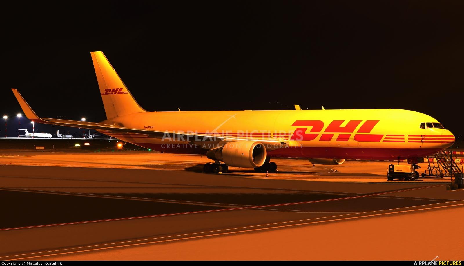 DHL Cargo G-DHLF aircraft at Bergamo - Orio al Serio