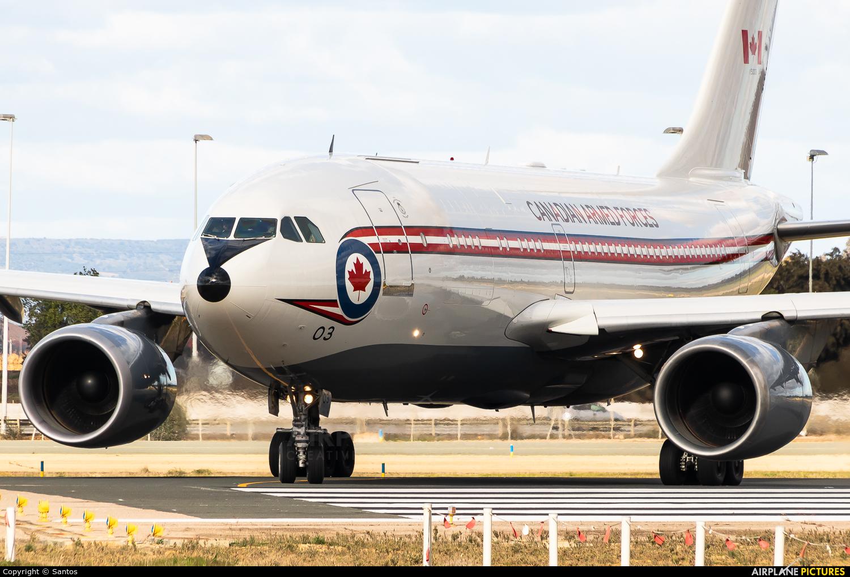Canada - Air Force 15003 aircraft at Seville - San Pablo
