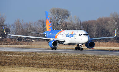 N255NV - Allegiant Air Airbus A320