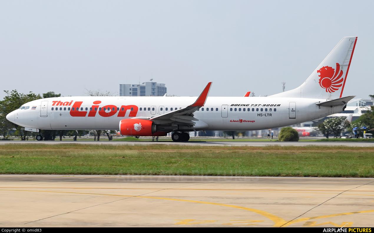 Thai Lion Air HS-LTR aircraft at Bangkok - Don Muang