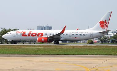 HS-LTR - Thai Lion Air Boeing 737-900ER