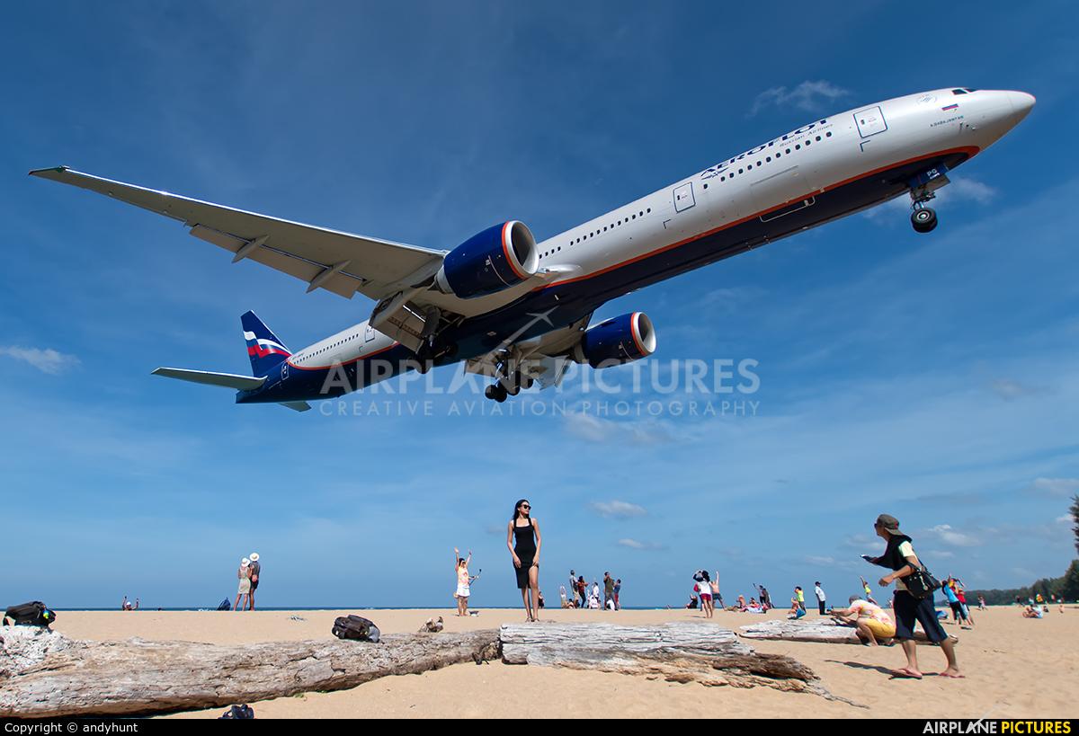 Aeroflot VP-BPG aircraft at Phuket