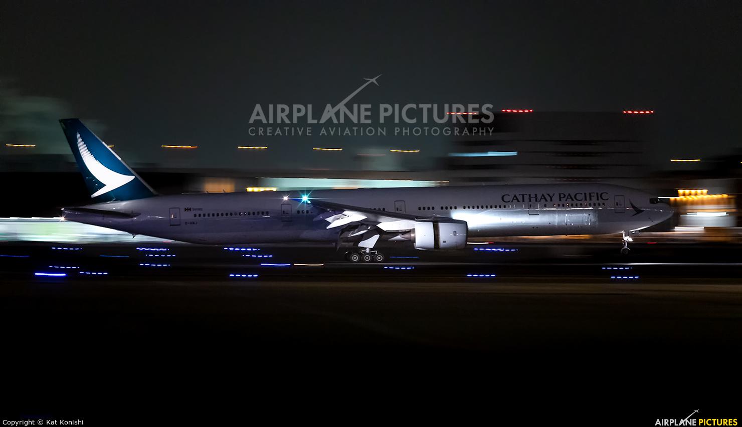 Air France F-GZNB aircraft at Tokyo - Haneda Intl