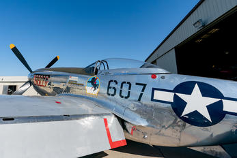 607 - USA - Army North American P-51D Mustang