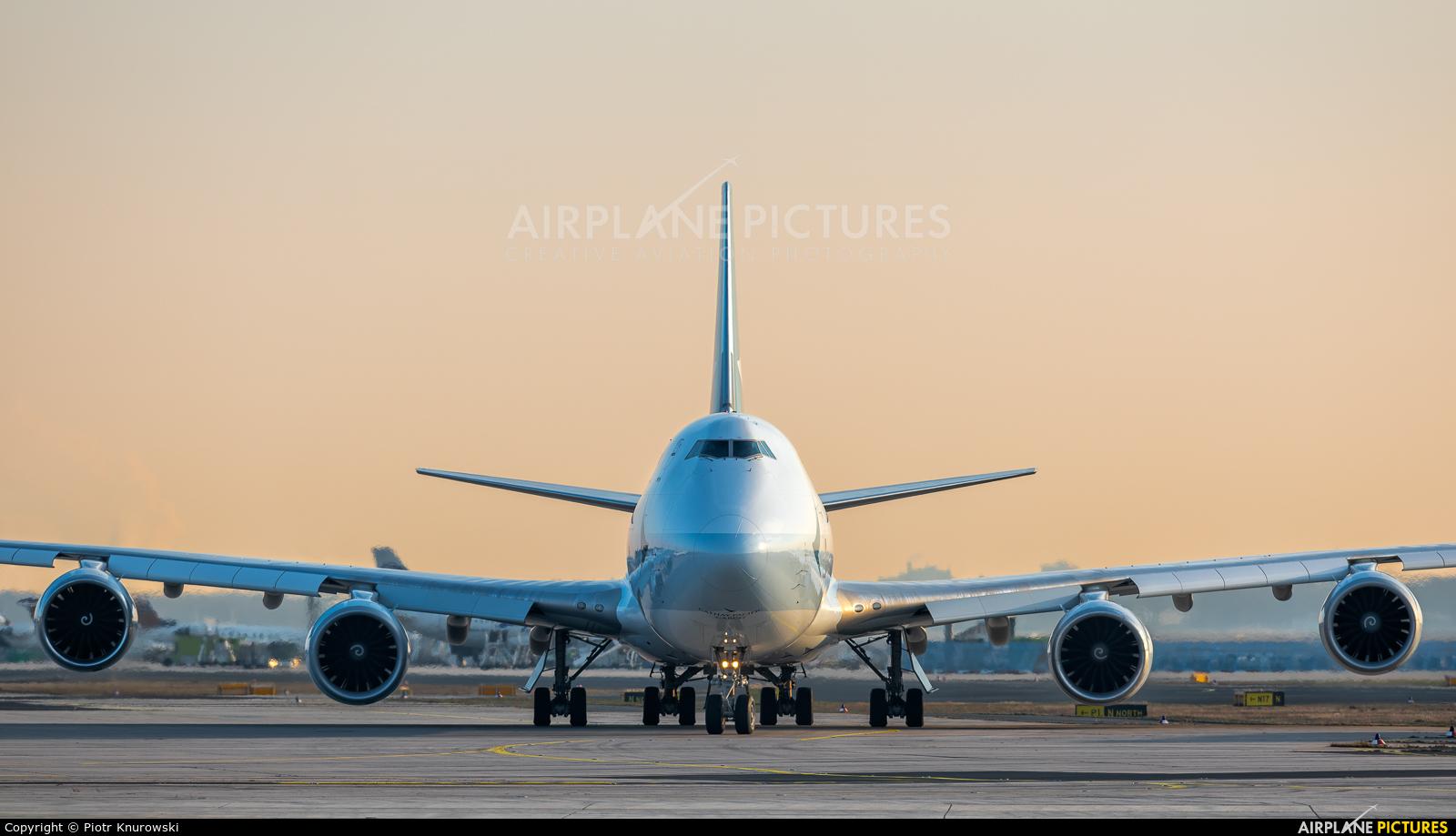 Cathay Pacific Cargo B-LJB aircraft at Frankfurt