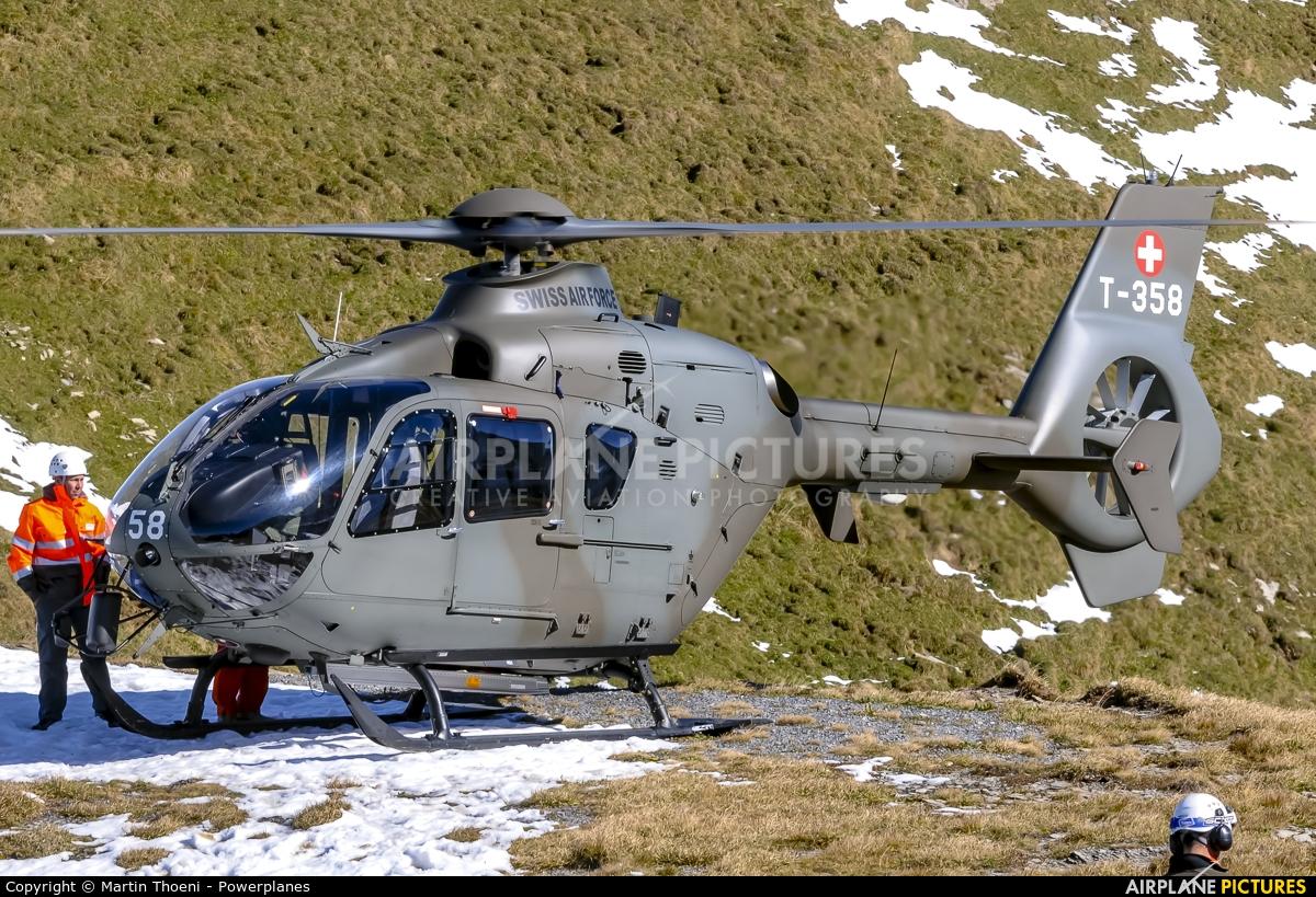 Switzerland - Air Force T-358 aircraft at Axalp - Ebenfluh Range