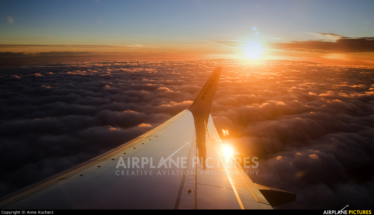 Ryanair SP-RSM aircraft at Warsaw - Frederic Chopin