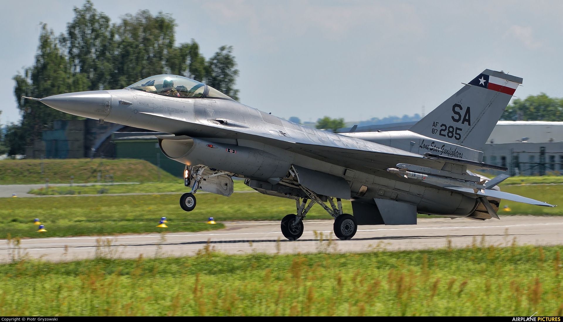 USA - Air National Guard 87-0285 aircraft at Čáslav