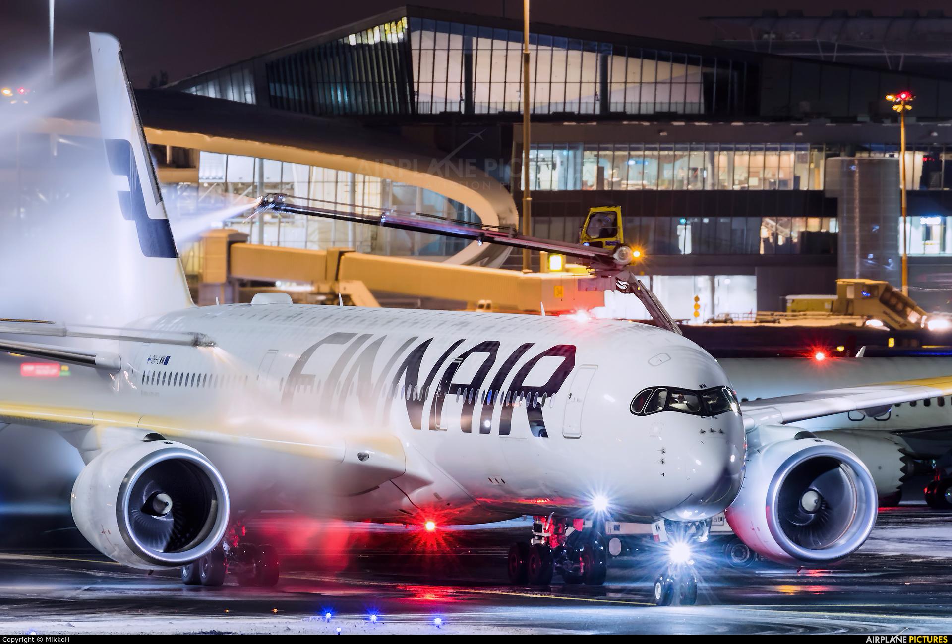 Finnair OH-LWM aircraft at Helsinki - Vantaa