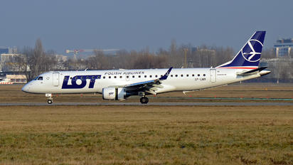 SP-LMB - LOT - Polish Airlines Embraer ERJ-190 (190-100)
