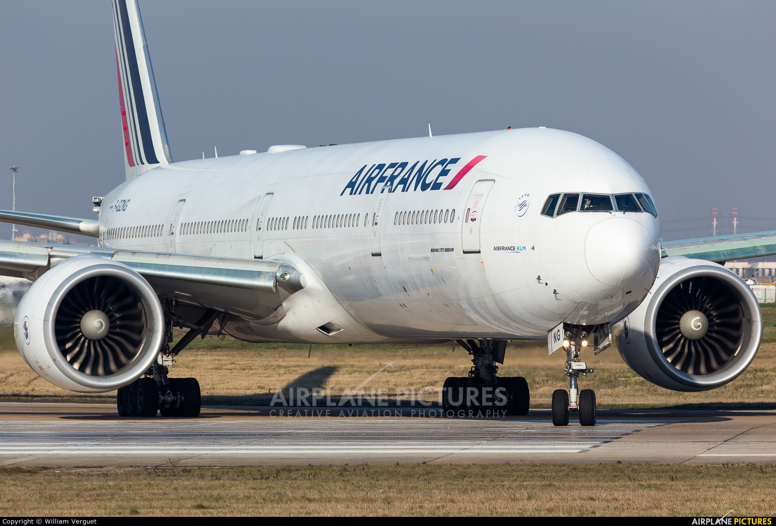 Air France F-GZNG aircraft at Paris - Orly