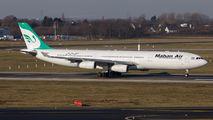 EP-MMT - Mahan Air Airbus A340-300 aircraft
