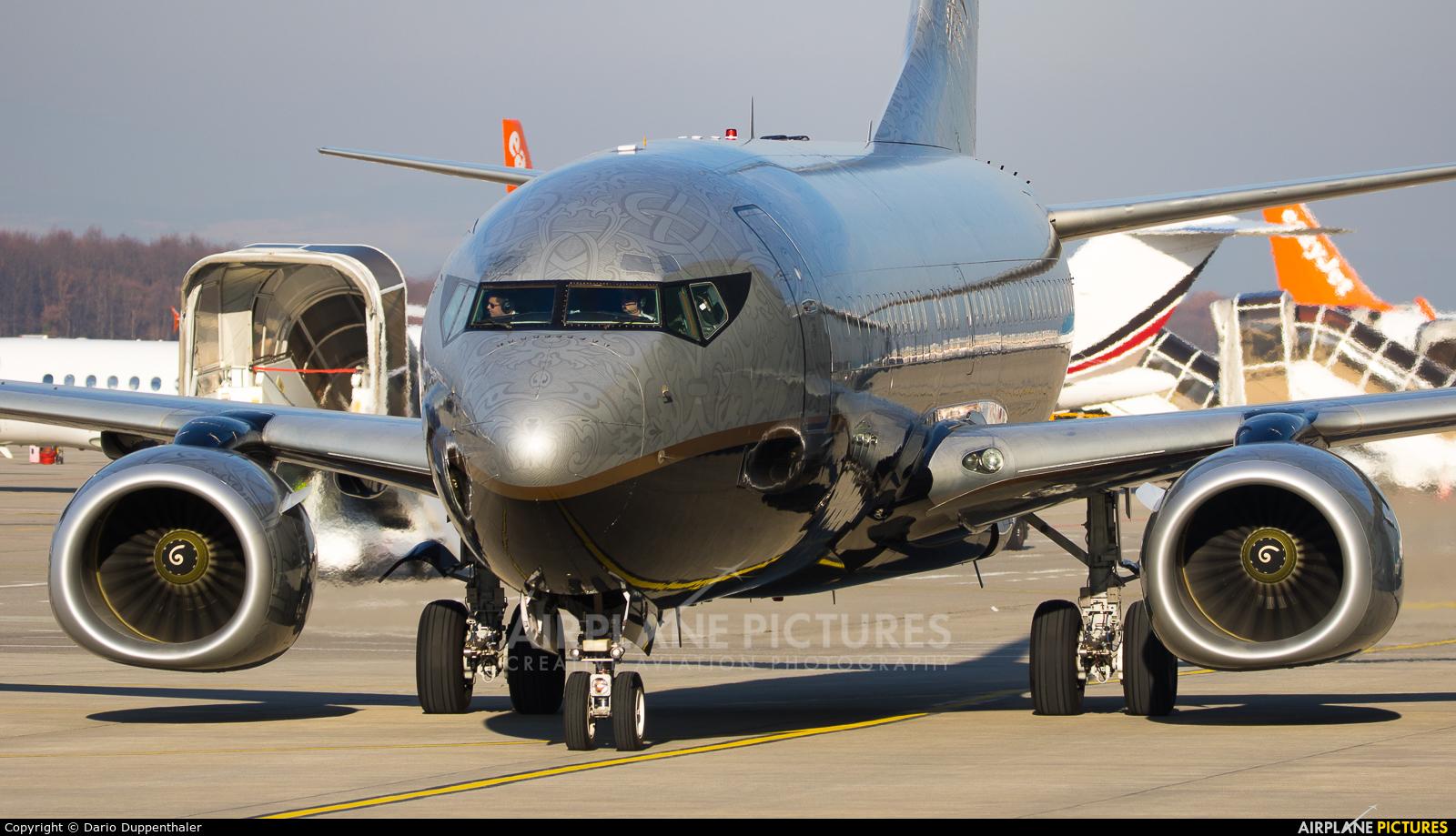 Private VP-BRT aircraft at Geneva Intl