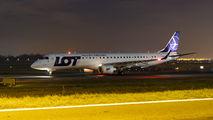 SP-LNE - LOT - Polish Airlines Embraer ERJ-195 (190-200) aircraft