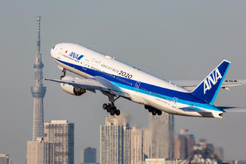 JA745A - ANA - All Nippon Airways Boeing 777-300