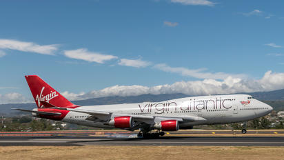 G-VXLG - Virgin Atlantic Boeing 747-400