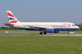 G-EUUG - British Airways Airbus A320