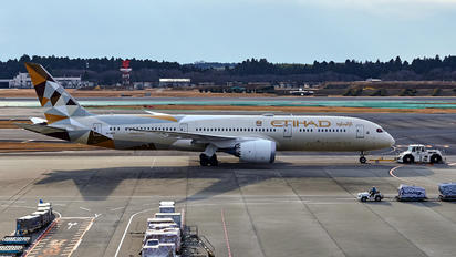 A6-BLP - Etihad Airways Boeing 787-9 Dreamliner