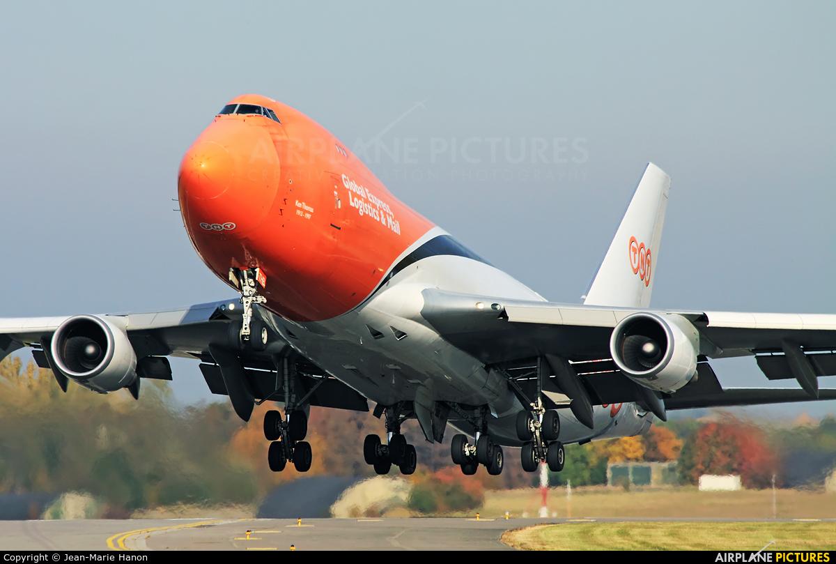 TNT OO-THB aircraft at Liège-Bierset
