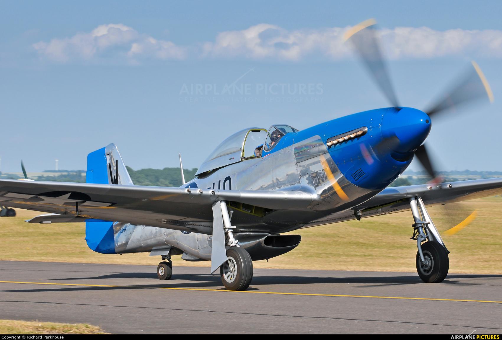 Private F-AZXS aircraft at Duxford