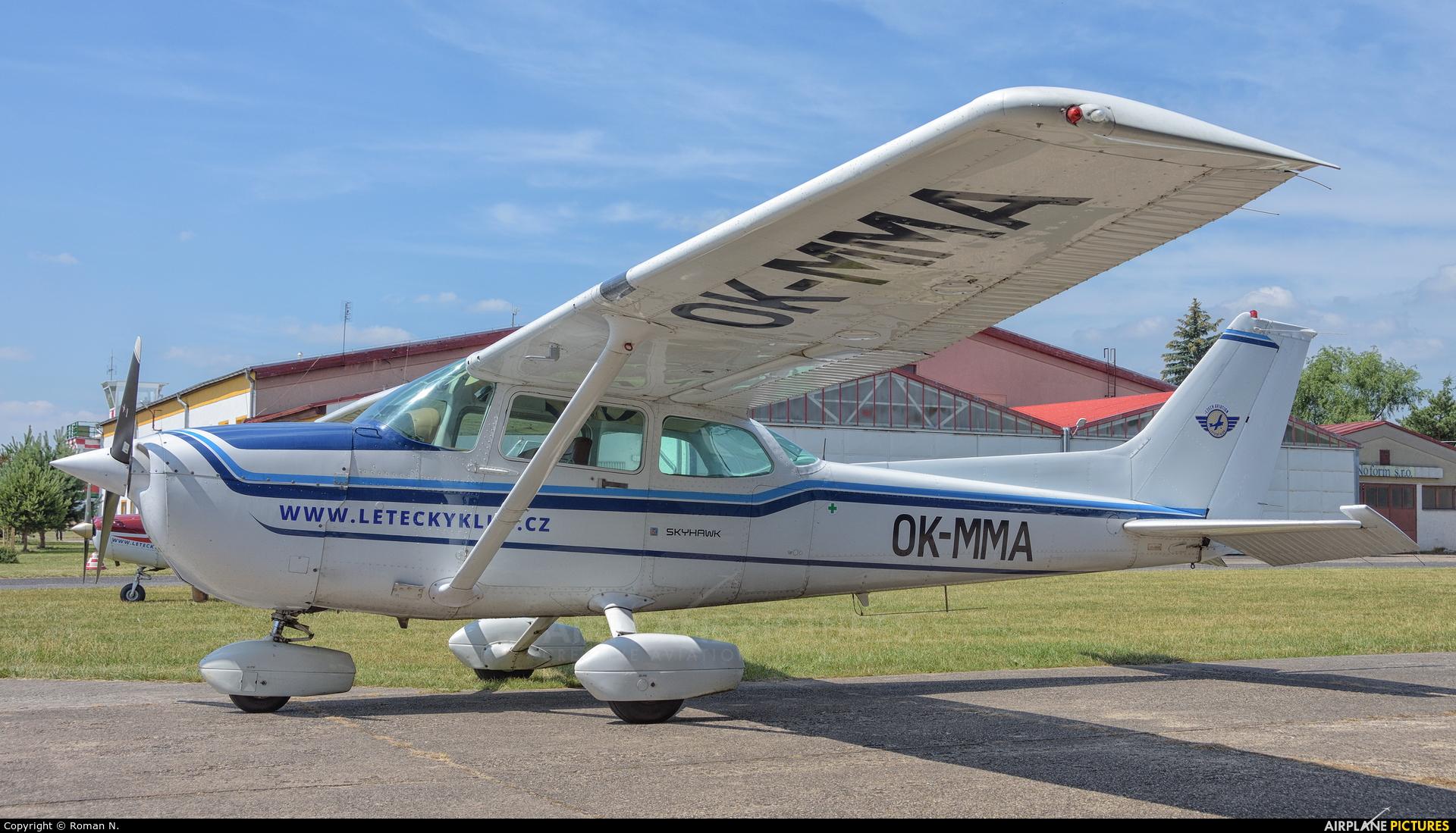 Private OK-MMA aircraft at Mladá Boleslav