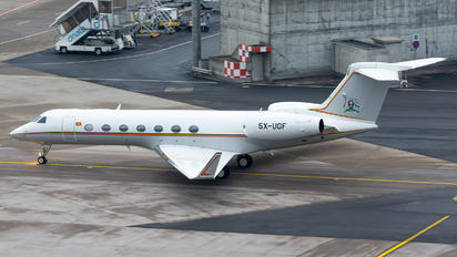5X-UGF - Uganda - Government Gulfstream Aerospace G-V, G-V-SP, G500, G550