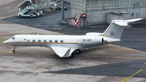 5X-UGF - Uganda - Government Gulfstream Aerospace G-V, G-V-SP, G500, G550 aircraft
