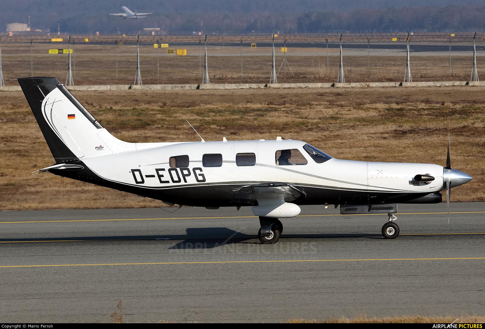 Private D-EOPG aircraft at Milan - Malpensa