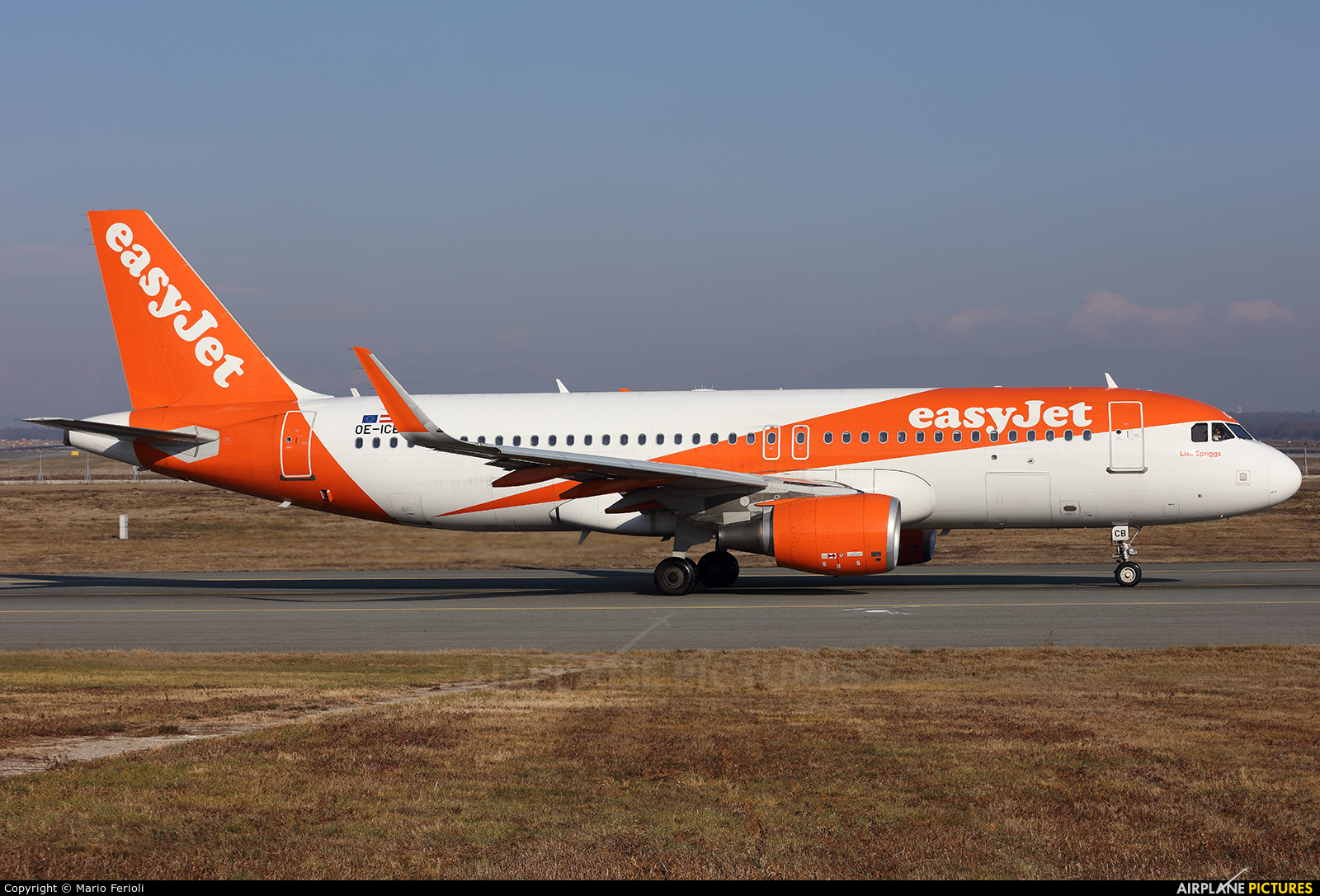 easyJet Europe OE-ICB aircraft at Milan - Malpensa