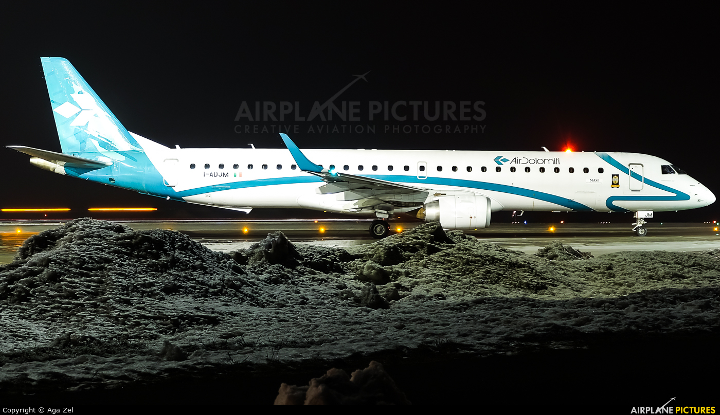 Air Dolomiti I-ADJM aircraft at Katowice - Pyrzowice
