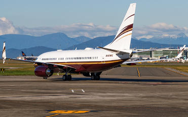 N162WC - Private Boeing 737-700 BBJ