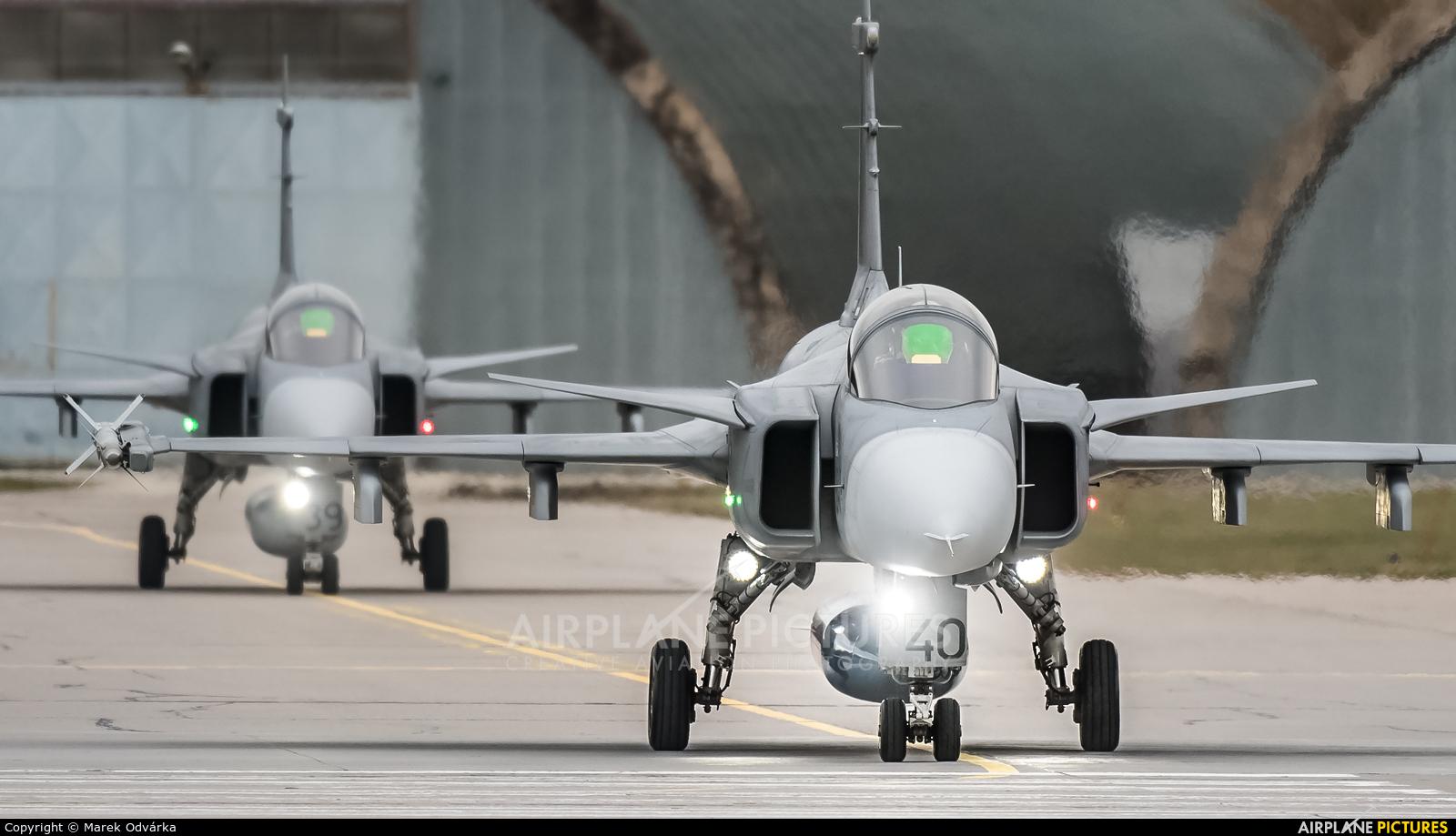 Czech - Air Force 9240 aircraft at Pardubice