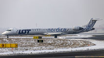 ES-ACI - LOT - Polish Airlines Bombardier CRJ 900ER aircraft