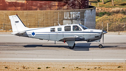 360 - Israel - Defence Force Beechcraft 36 Bonanza
