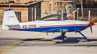 4X-OYN - Private Vans RV-8A