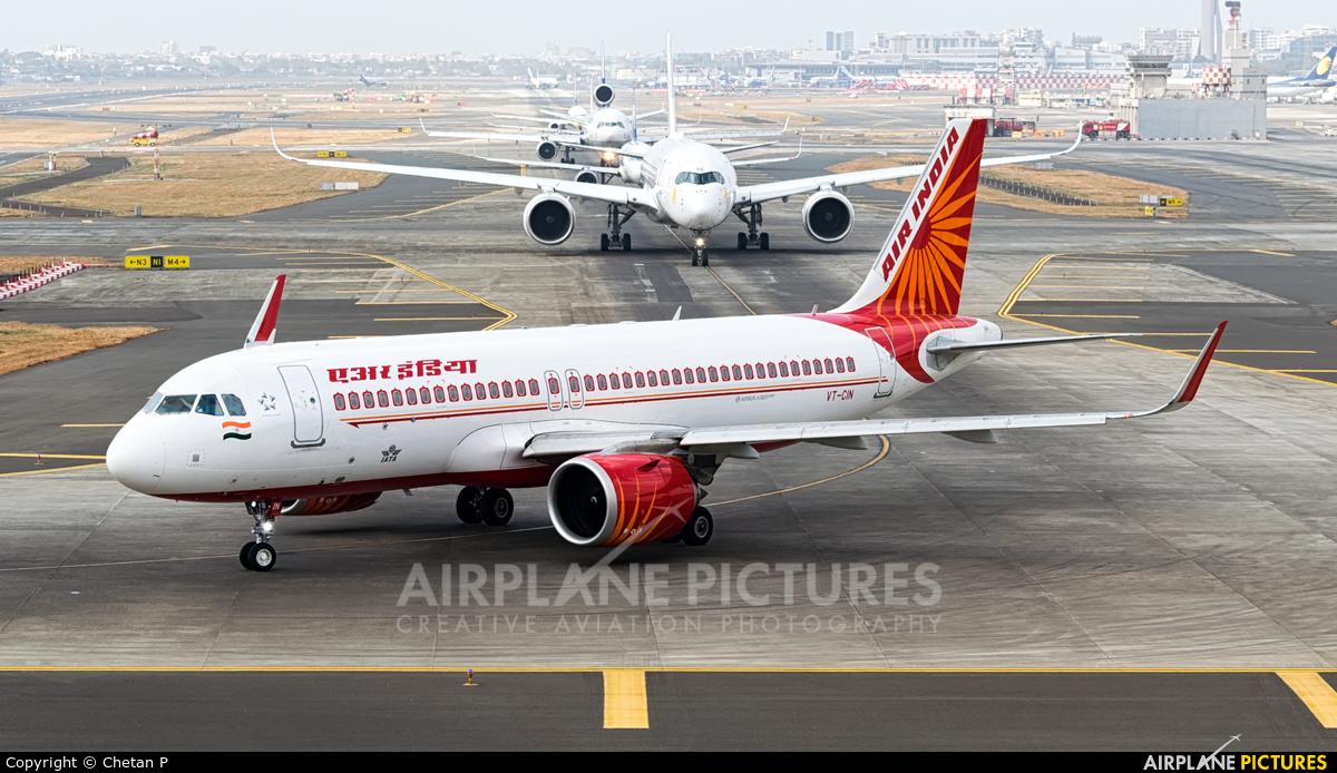 Air India VT-CIN aircraft at Mumbai - Chhatrapati Shivaji Intl